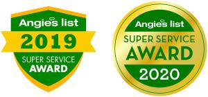 Angie's list Super Service Award - 2019 & 2020